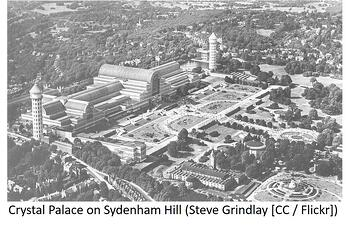Crystal Palace on Sydenham Hill