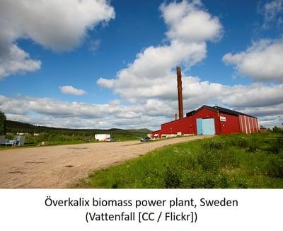 Överkalix biomass power plant