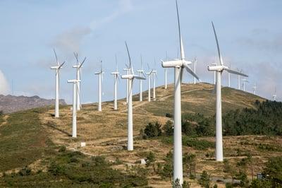 Wind Turbine, Carmota, Coruna, Galicia, Spain